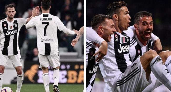 'Phenomenon' Ronaldo Stretches Torino's 24-year Wait For Win At Juventus