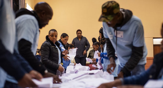 Victory In Sight For ANC In Closely-Watched South Africa Poll