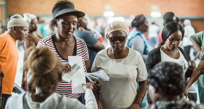 South Africans Head To Polls Tipped To Be Won By ANC
