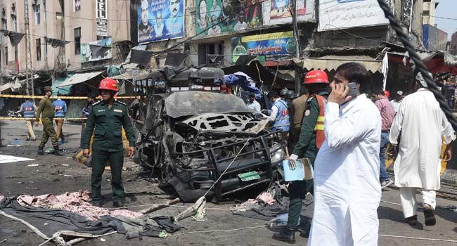 Suicide Blast Kills At Least 10 At Popular Shrine