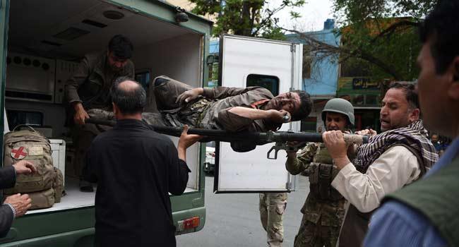 Taliban Overruns International NGO's Office In Kabul Attack