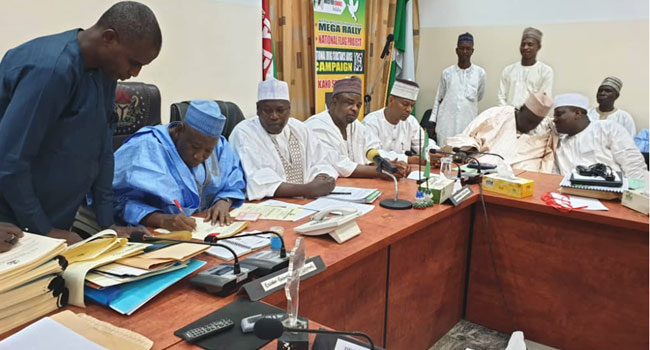 Ganduje Signs Bill Seeking Creation Of Four New Emirates In Kano