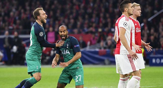 Tottenham Beat Ajax 3-2 To Set Up All English Champions League Finals