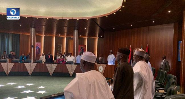President Buhari Chairs Valedictory FEC Meeting