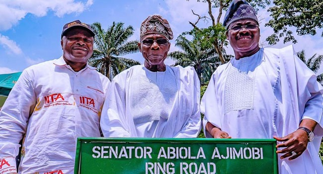 Obasanjo, Ajimobi Inaugurate Projects At IITA