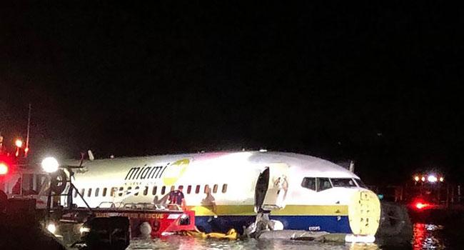 Boeing Plane Crashes Into Florida River