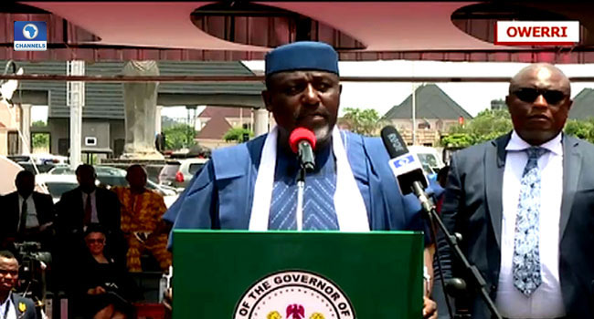 'I Have Not Met Up With The Demands Of Imo State Judges' – Okorocha