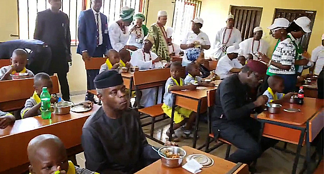 Reps Query Home-grown School Feeding Programme