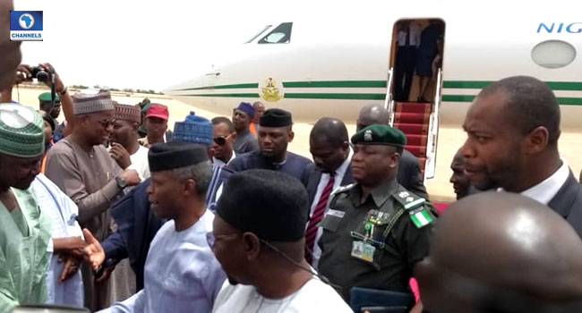 Osinbajo Visits Bauchi To Inaugurate Electrical Projects, Others