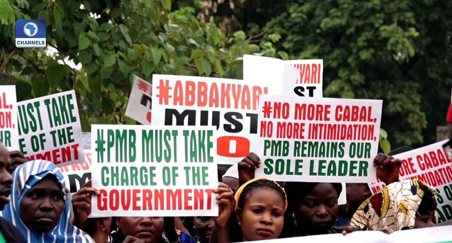 Appointments: APC Stakeholders Protest In Abuja