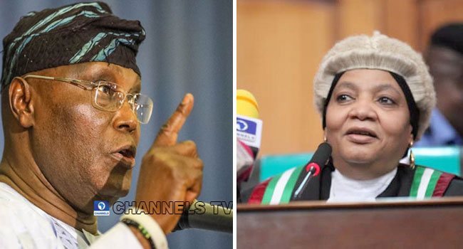 Atiku's Legal Team Asks Justice Bulkachuwa To Appoint Replacement At Tribunal