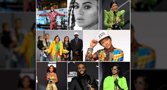 Cardi B, Bruno Mars, Others Shine At 2019 BET Awards