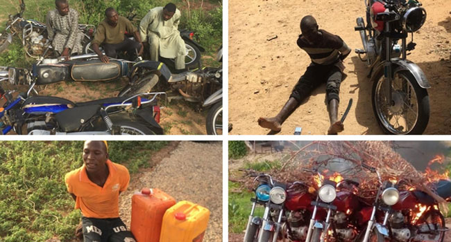 Troops Arrest 25 Bandits, Recover Cache of Arms And Ammunition