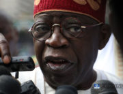 A file photo of APC National Leader, Mr Bola Tinubu.
