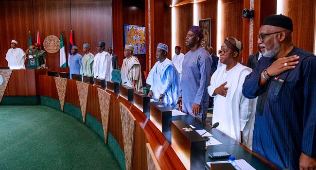 Buhari Inaugurates NEC, Asks Them To Focus On Economic Development
