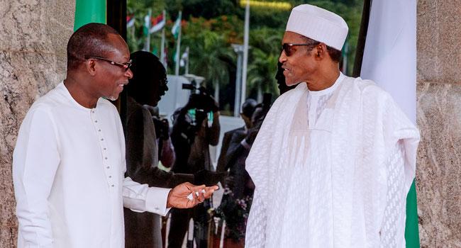 Buhari Meets With President Of Benin Republic