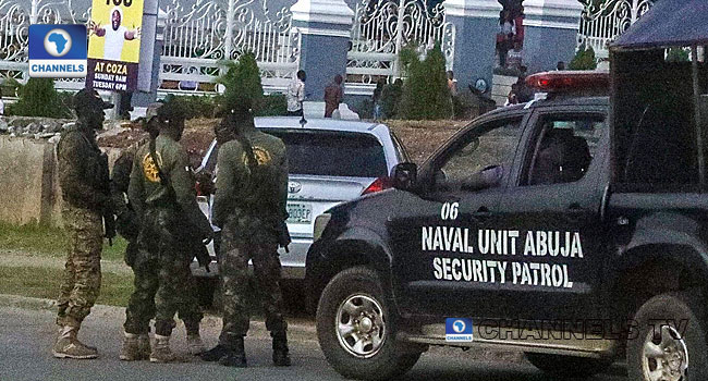 Rape Controversy: Masked Security Officials Surround COZA