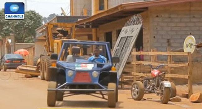 Mechanic Builds His Own Vehicles In Cameroon (Video)