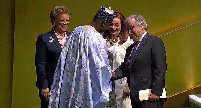 UNGA: Guterres, Garces, Others Congratulate Nigeria's Muhammad-Bande