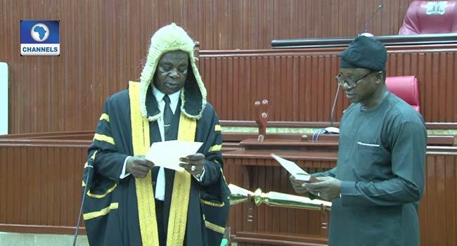 Frank Okiye Emerges Speaker Of Edo Assembly Amidst Alleged Imposition