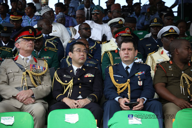 PHOTOS: Dignitaries Attend Democracy Day Celebration At Eagle Square