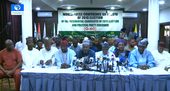 60 Political Parties Pass Vote Of Confidence On INEC, Describe 2019 Poll As Credible