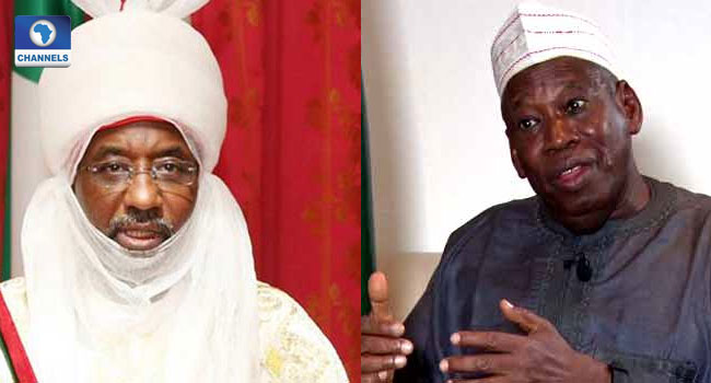 Ganduje Appoints Sanusi As Kano Council Of Chiefs Chairman