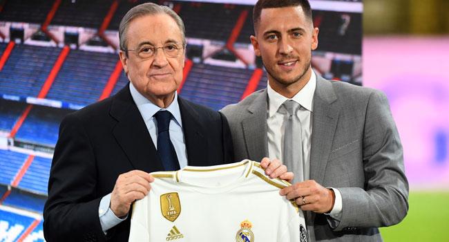 Madrid Unveil Hazard Before Thousands Of Fans