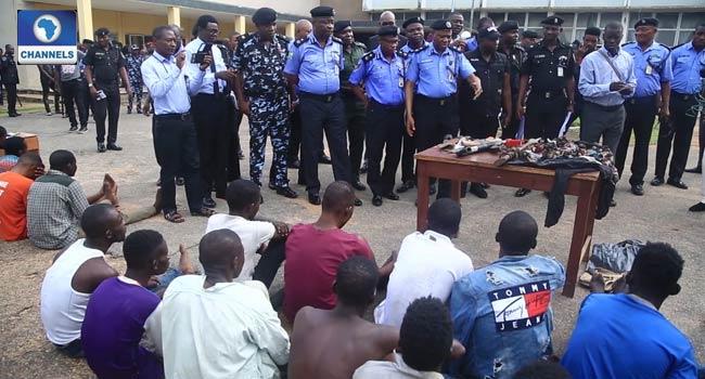 Police Arrest 26 NURTW Members In Oyo