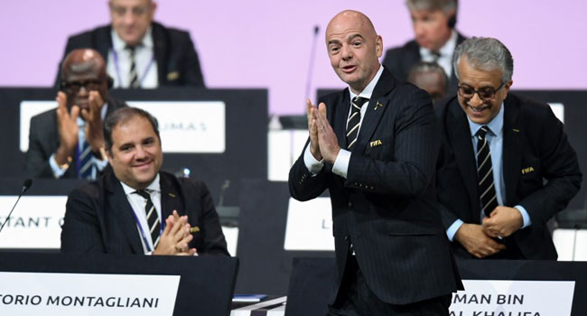 Infantino Re-Elected For Second Term As FIFA President