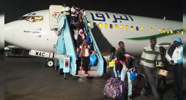 137 Nigerians Return From Libya