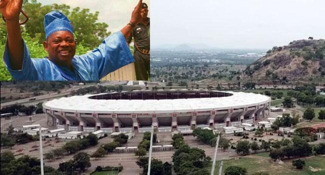 Image result for Buhari Renames National Stadium Abuja After MKO Abiola
