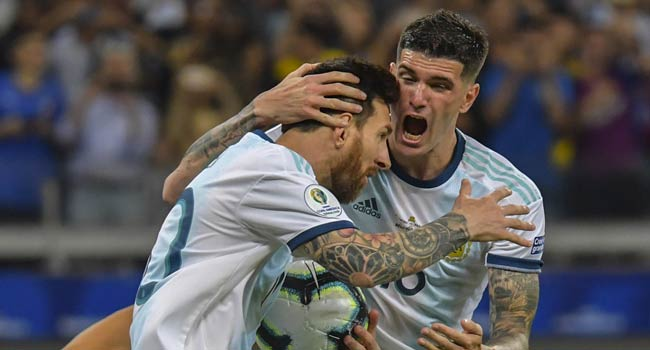 Messi Penalty Rescues Argentina In COPA America