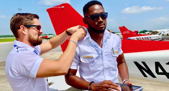 BBNaija Winner, Miracle Certified As 'Instrument Rated' Pilot