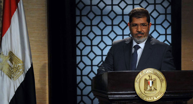 UN Calls For 'Independent' Probe Into Morsi's Death
