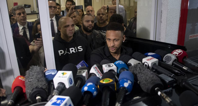 Rape Allegation: Neymar Gives Statement To Police About Video Release
