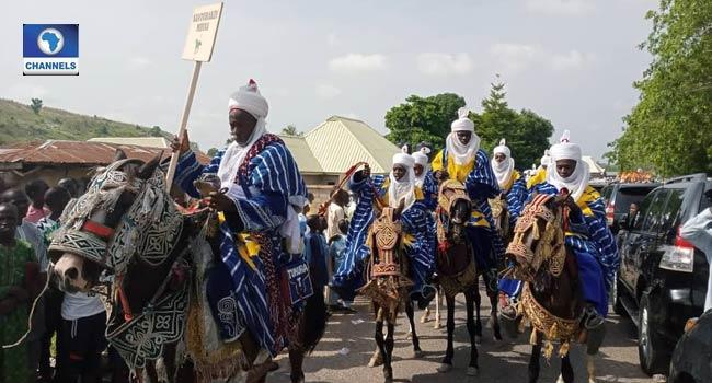 Royal Display As Muslims Celebrate Eid-El-Fitri