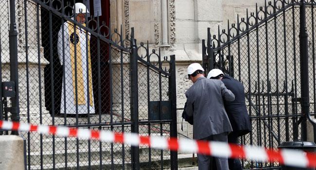 Notre-Dame Cathedral Holds First Mass Since Devastating Blaze