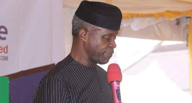 Government Cannot Fund All Public Infrastructure – Osinbajo