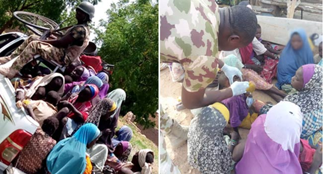 Troops Discover New Boko Haram Camps, Rescue 42 Women, 51 Children