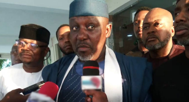 Imo Senatorial Elections: INEC Issues Certificate Of Return To Okorocha