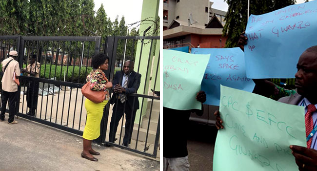 Union Rejects Gwarzo's 'Reinstatement', Shuts SEC Office In Abuja