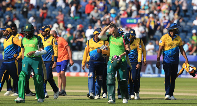 South Africa Dent Sri Lanka World Cup Hopes