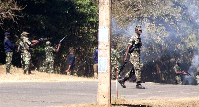 US Ambassador Flees Teargas At Malawi Election Protest