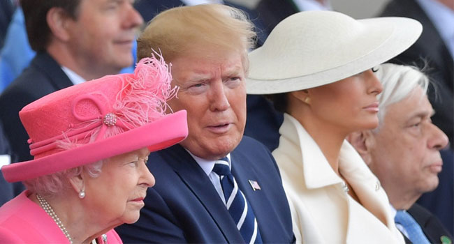 Trump, Queen Elizabeth Lead Emotional Tributes To D-Day Heroes