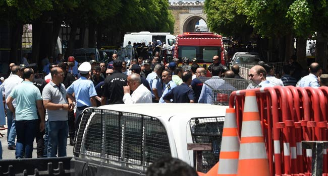 Double Suicide Blasts Wound Nine In Tunisia Capital