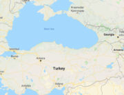 A map of Turkey used to illustrate the story.