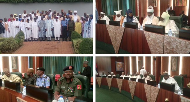 Insecurity: Buhari Receives Delegation Of Govt, People Of Nasarawa