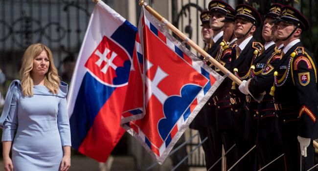 Slovakia Swears In First Female President Caputova