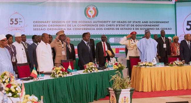 Buhari Declares 55th Ordinary Session Of ECOWAS Open